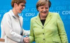 Merkel taps possible successor Annegret Kramp-Karrenbauer as next CDU secretary general