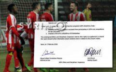 Ja manovra që pritët të bëjë Skënderbeu për t'i shpëtuar dënimit të UEFA-s