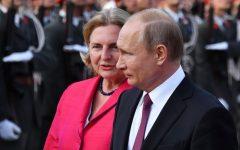 Anger as Austria's foreign minister invites Putin to her wedding