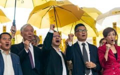 Hong Kong democracy protesters plead not guilty as Umbrella movement goes on trial