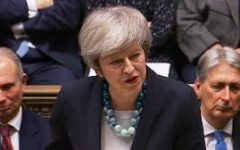 Brexit: desperate May dashes to continent in search for concessions
