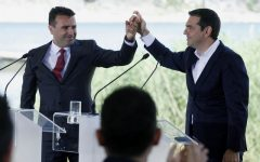 Macedonian, Greek PMs to be Nominated for Nobel Prize